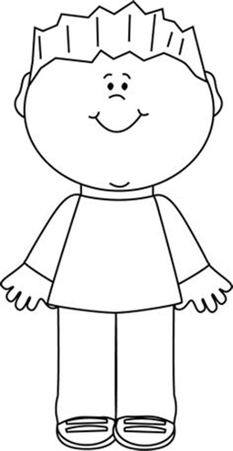 kid clipart black and white boy clip or pictures clipart panda free clipart images