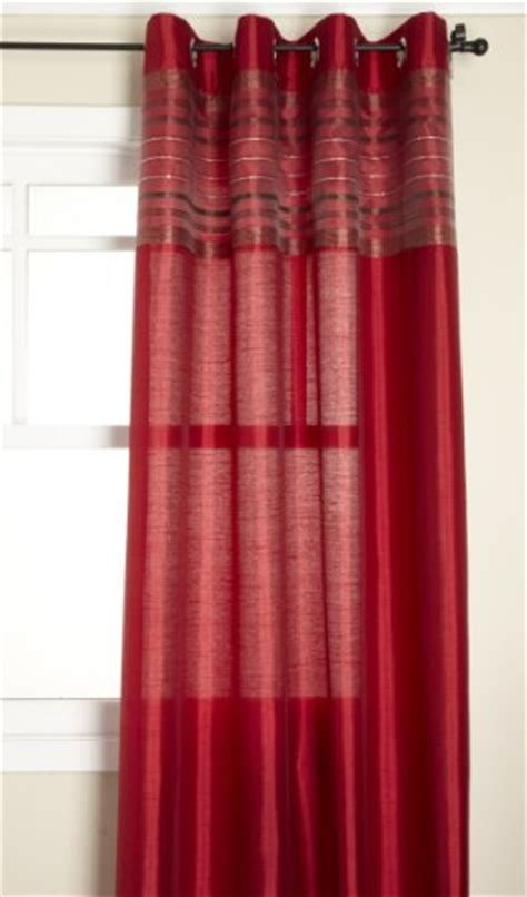 fiesta curtains fiesta faux silk grommet top curtain stylemaster view