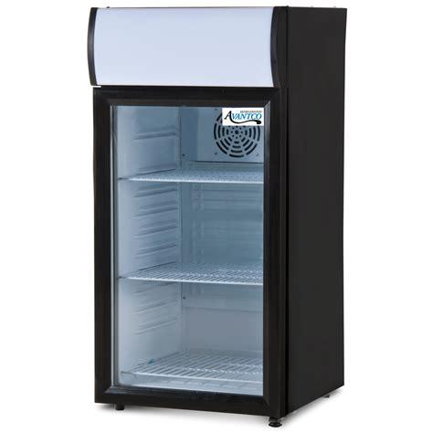 Countertop Refrigerator - avantco sc 80 countertop display refrigerator with glass
