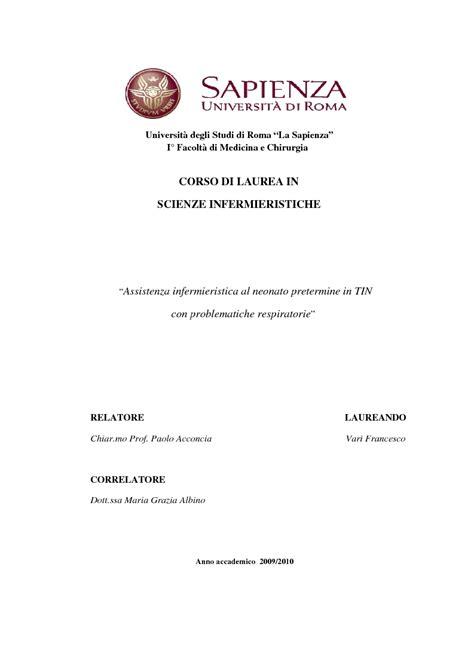 universit 192 di torino tesi di laurea infermieristica anteprima tesi assistenza