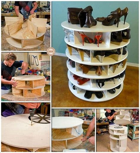 diy lazy susan shoe rack this diy lazy susan shoe rack is just awesome for shoe storage