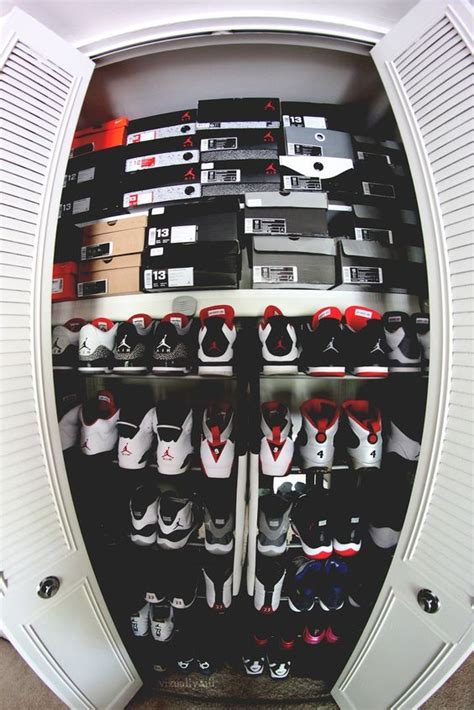 The Sneaker Closet by Closet Jordans And Shoes On