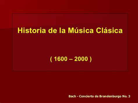 historia de la musica 8420663085 historia de la m 250 sica cl 225 sica