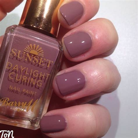 M Sunset barry m side of the shroom swatches