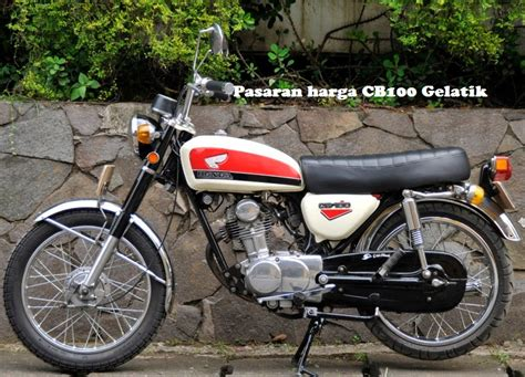 Striping Tangki Cb Glatik Merah harga spesifikasi motor honda sport cb 100 gelatik