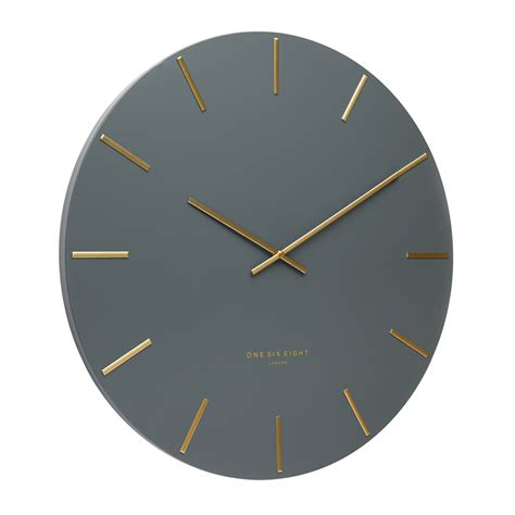 buy luca white 40cm silent wall clock online purely wall clocks buy luca charcoal 40cm silent wall clock online purely