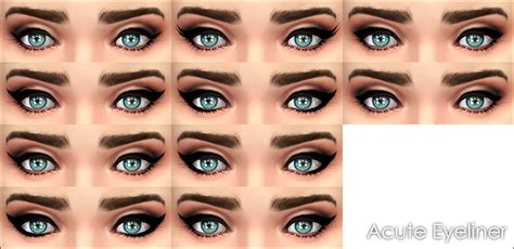 mod the sims acute eyeliner 10 styles styles for eye shape makeup search results dunia pictures