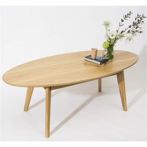 Table Ovale Bois by Table Basse Scandinave Ovale Skoll By Drawer