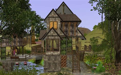 Cottage Floor Plans mod the sims smelly house in the swamp