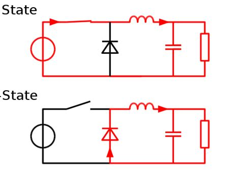 pwm inductor current what are the consequences of not using a diode in a buck converter and why a diode must be used