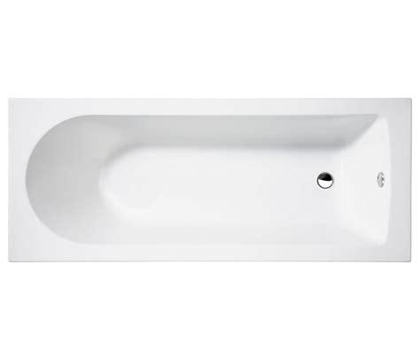 Straight Shower Bath 1700 cleargreen reuse rectangular single ended bath 1600 x