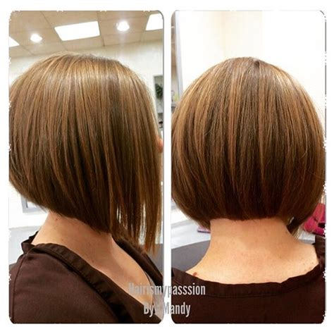 cutting shorter pieces of hair near the face 22 most popular a line bob hairstyles pretty designs