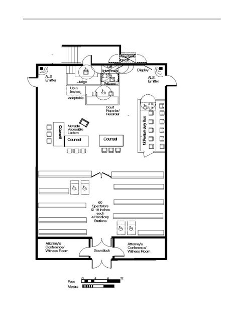 courtroom floor plan courtroom floor plan courtroom floor plan figure 4 10c u s