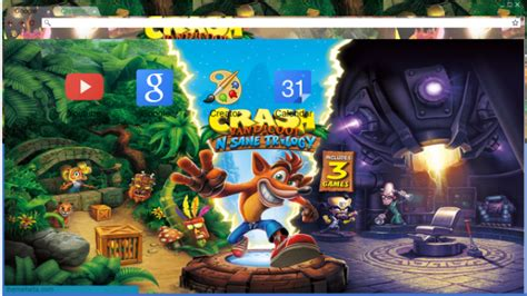 ps4 themes crash crash bandicoot n sane trilogy ps4 chrome theme themebeta
