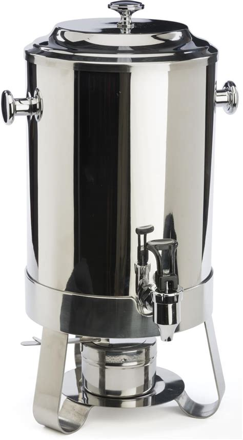 hot sale beverage drinking can storage box useful kitchen stainless steel coffee urn holds 2 9 gallons of hot