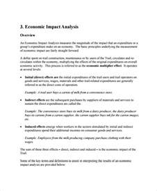 economic analysis template impact analysis template 11 free word pdf documents