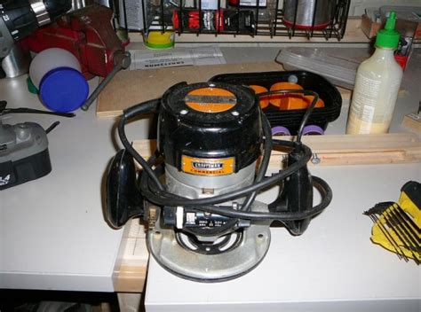 sale craftsman commercial fixed base router