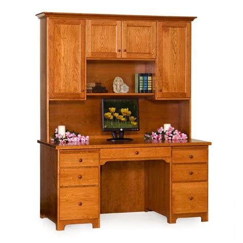 shaker desk shaker 61 quot desk hutch amish shaker 61 quot desk hutch