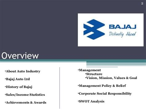 Mba Bajaj Auto Swot Analysis by Project On Bajaj Auto Ltd