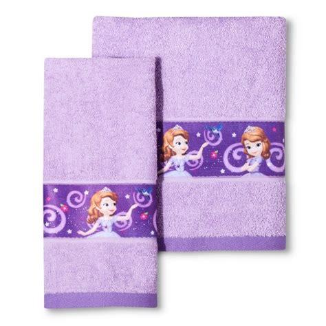 sofia the first bathroom set disney 174 princess sofia the first 2 pc bath towe target