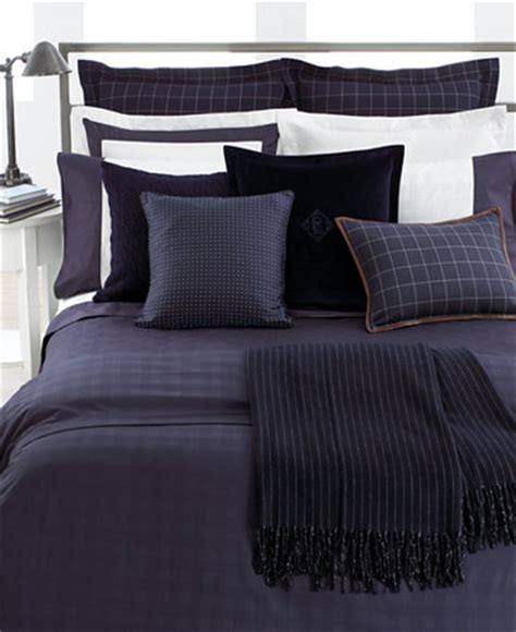 ralph lauren plaid bedding closeout lauren ralph lauren bedding navy glen plaid suite collection bedding