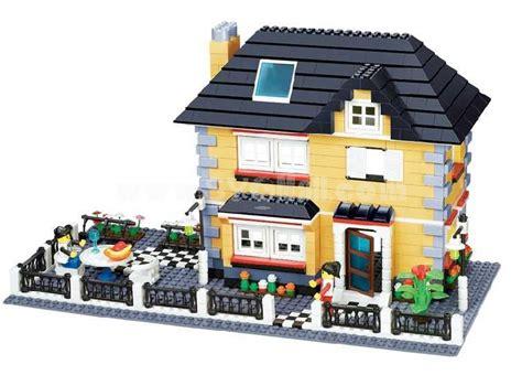LEGO Luxury House   Building Blocks   SYGMALL