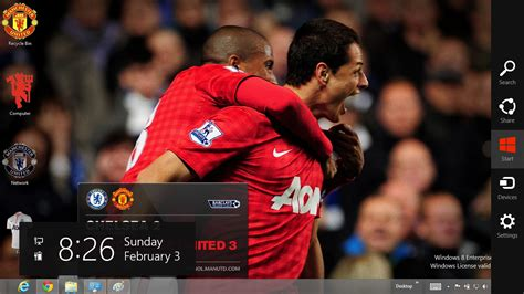 theme windows 8 1 manchester united manchester united 2013 theme for windows 8 ouo themes