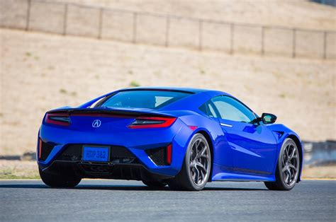 2017 acura nsx priced at 157 800 tops out at 207 500