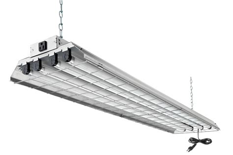 fluorescent work light home depot lithonia lighting 4 ft t8 4l 32w grid shop light the