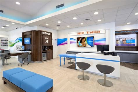 the flow store flow telecom flagship store by shikatani lacroix design