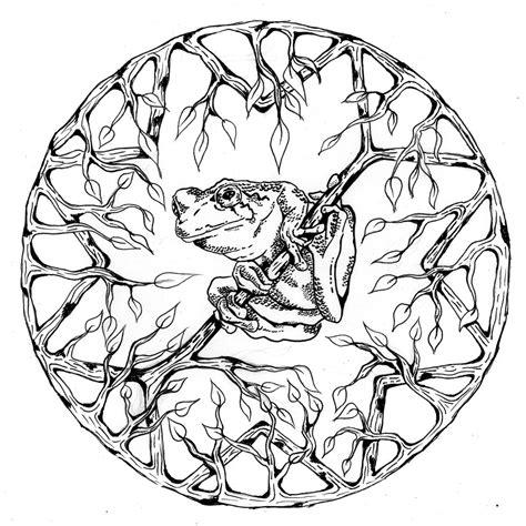64 dessins coloriage mandalas animaux 224 imprimer sur laguerche 7