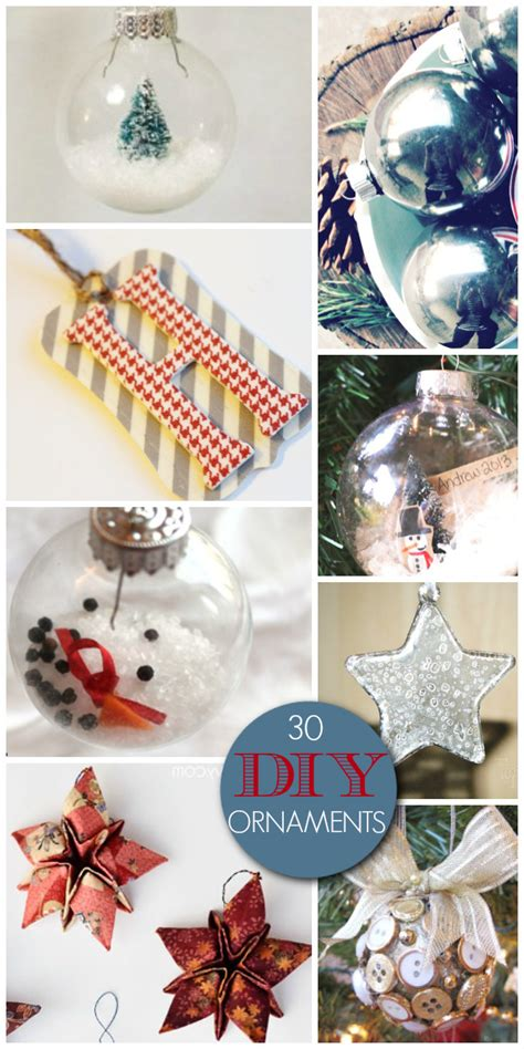 30 gorgeous diy ornaments a helicopter mom