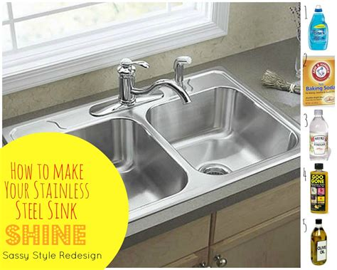 how to clean stainless sink cleaning sink cleaning