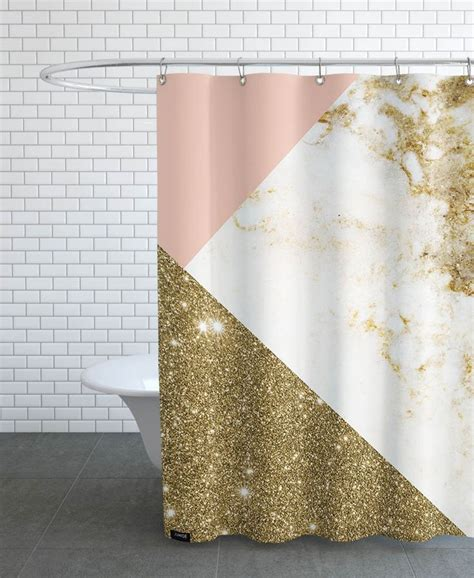 Pink And Gold Curtains Pink And Gold Marble Collage Of Cafelab Now On Juniqe Home Accessories Marbles