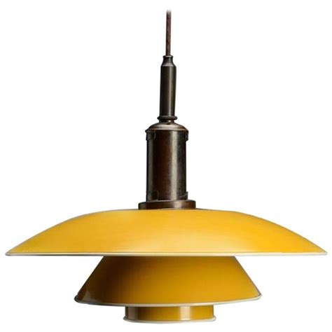 Poul Henningsen Ph 4 189 4 Pendant L With Shade Yellow Yellow Pendant Light Shade