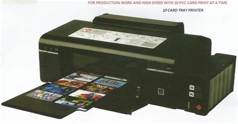Printer Epson Id Card pvc card printing epson inkjet pvc card printer id card