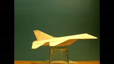 Origami F16 - flyable origami f 16 falcon airplane by ken hmoob