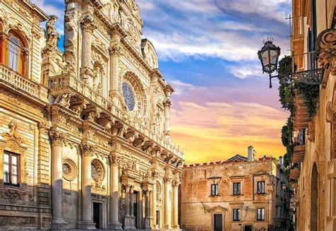 d italia lecce que faire en italie top 20 des lieux 224 visiter absolument