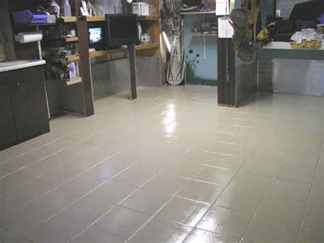 epoxy paint for bathroom tile epoxy painted tile floor floors pinterest painted