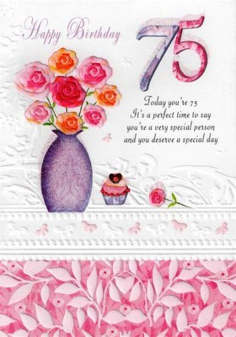 75th Birthday Cards Messages 75th Birthday Card Verses Related Keywords 75th Birthday