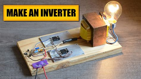 make an inverter diy experiments 2 power ac devices