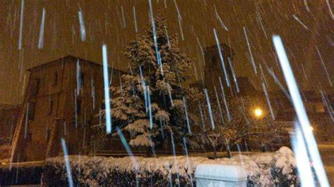 meteo di san in fiore tanta neve in sila le foto da san in fiore
