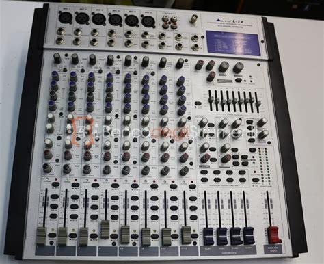 Mixer Alto L12 alto l12 mixer analogico 8 canali ex demo banco degli strumenti compra e vendi strumenti