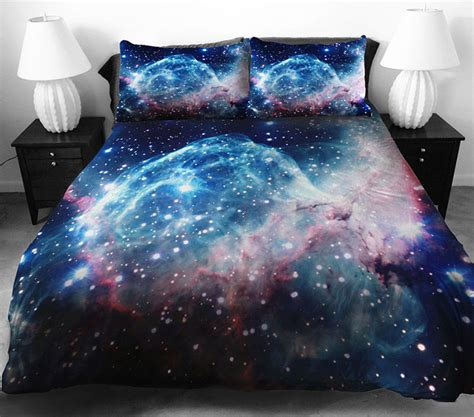 space bed sheets fantastic 3d galaxy bedding sets stylish eve