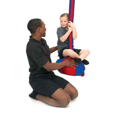 therapeutic swing moon swing sensory integration southpaw