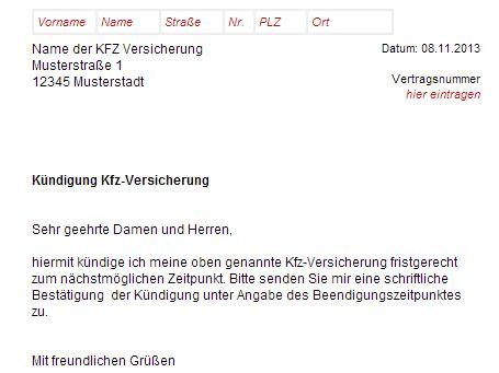 Kfz Versicherung K Ndigen Vorlage Word by Kfz Versicherung K 252 Ndigen Vorlage Download Chip
