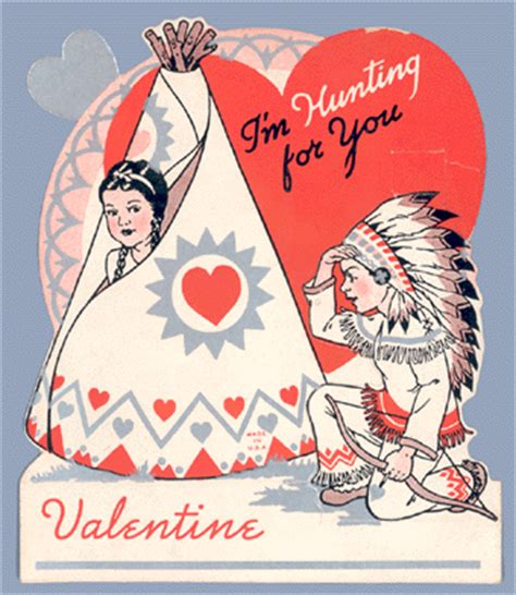 valentines day india vintage valentine s day cards american indians sociological images
