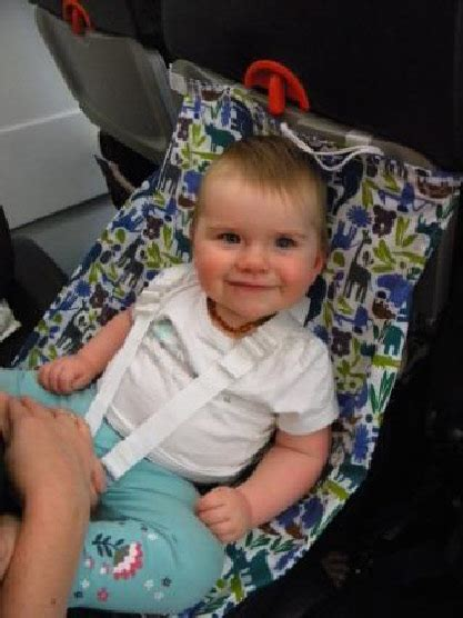 Baby Hammock For Plane carriers travel with tots