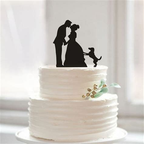 1000  ideas about Silhouette Wedding Cake on Pinterest