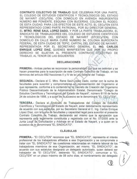 contratos de trabajo bonificados 2016 contrato colectivo de trabajo 2013 2015